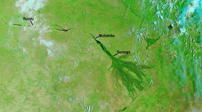 Okavango Flood Update - April 10, 2013