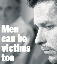 ... of female victims, the needs of male victims remain largely unmet