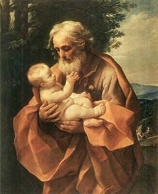 St. Joseph, by Guido Reni, 1635