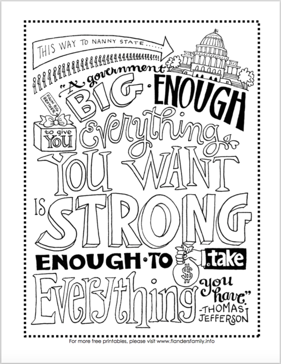 Constitution Day Coloring Pages (Free Printables ...
