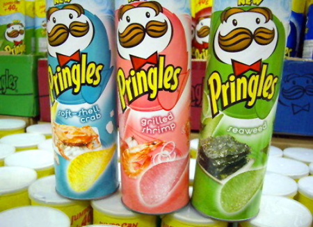 101 Pringles Flavors From Around The World | Foodiggity