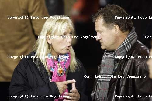 Frank Snoeks with Wife Anja Heyne