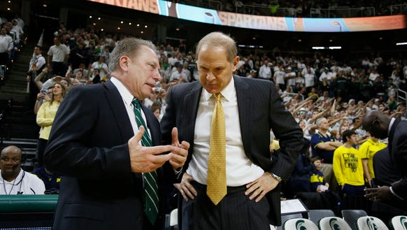 Tom Izzo says no one asked Michigan State to flip games with Michigan