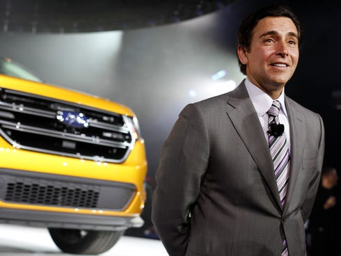 New Ford CEO Mark Fields gets $5.25M pay package, plus options