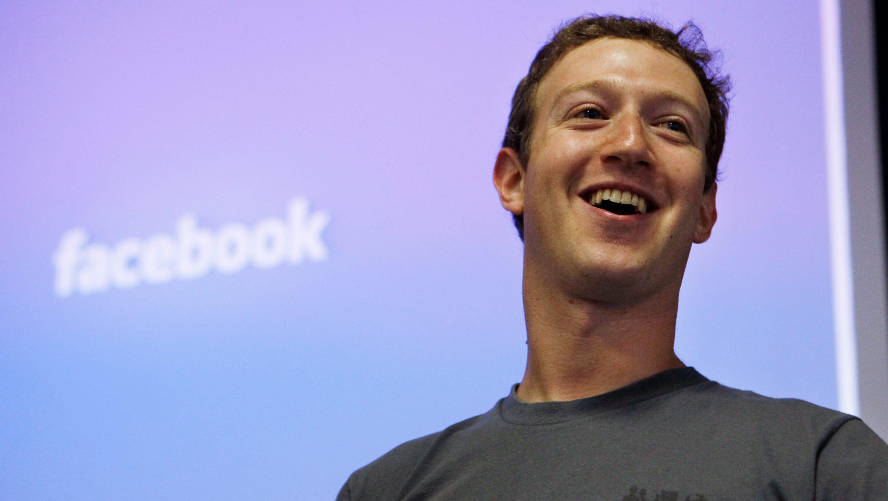 Facebook CEO Mark Zuckerberg is $1.6 billion richer