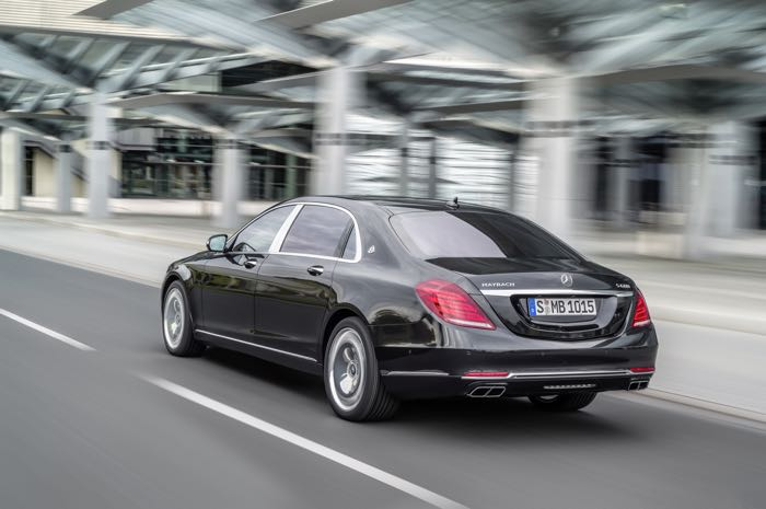 Mercedes Maybach S Class -  Mercedes prices new Maybach S class at €134,100