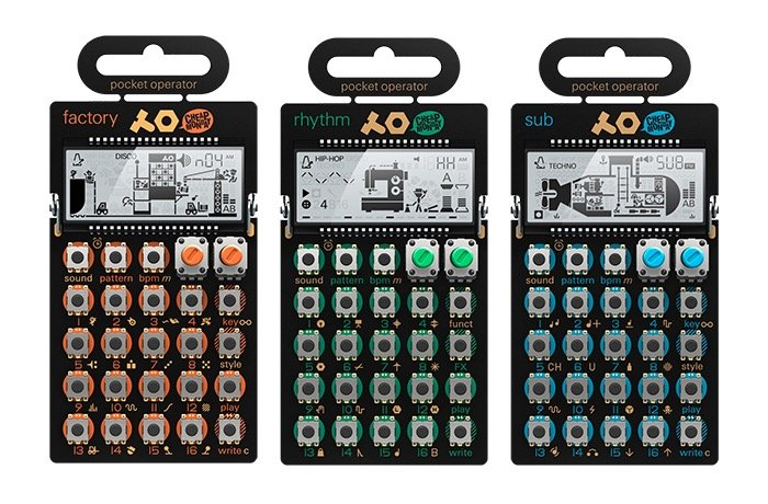 Teenage Engineering Pocket Operator Synthesizers Launch ...