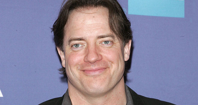 The 49-year old son of father (?) and mother(?), 178 cm tall Brendan Fraser in 2018 photo