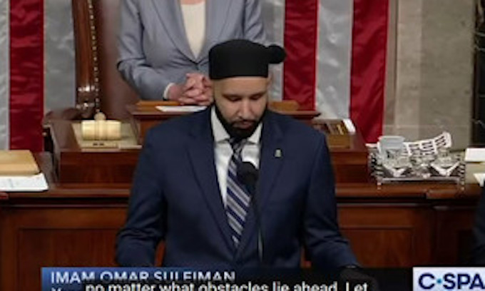 Israel-bashing Imam delivers opening prayer at House of ...