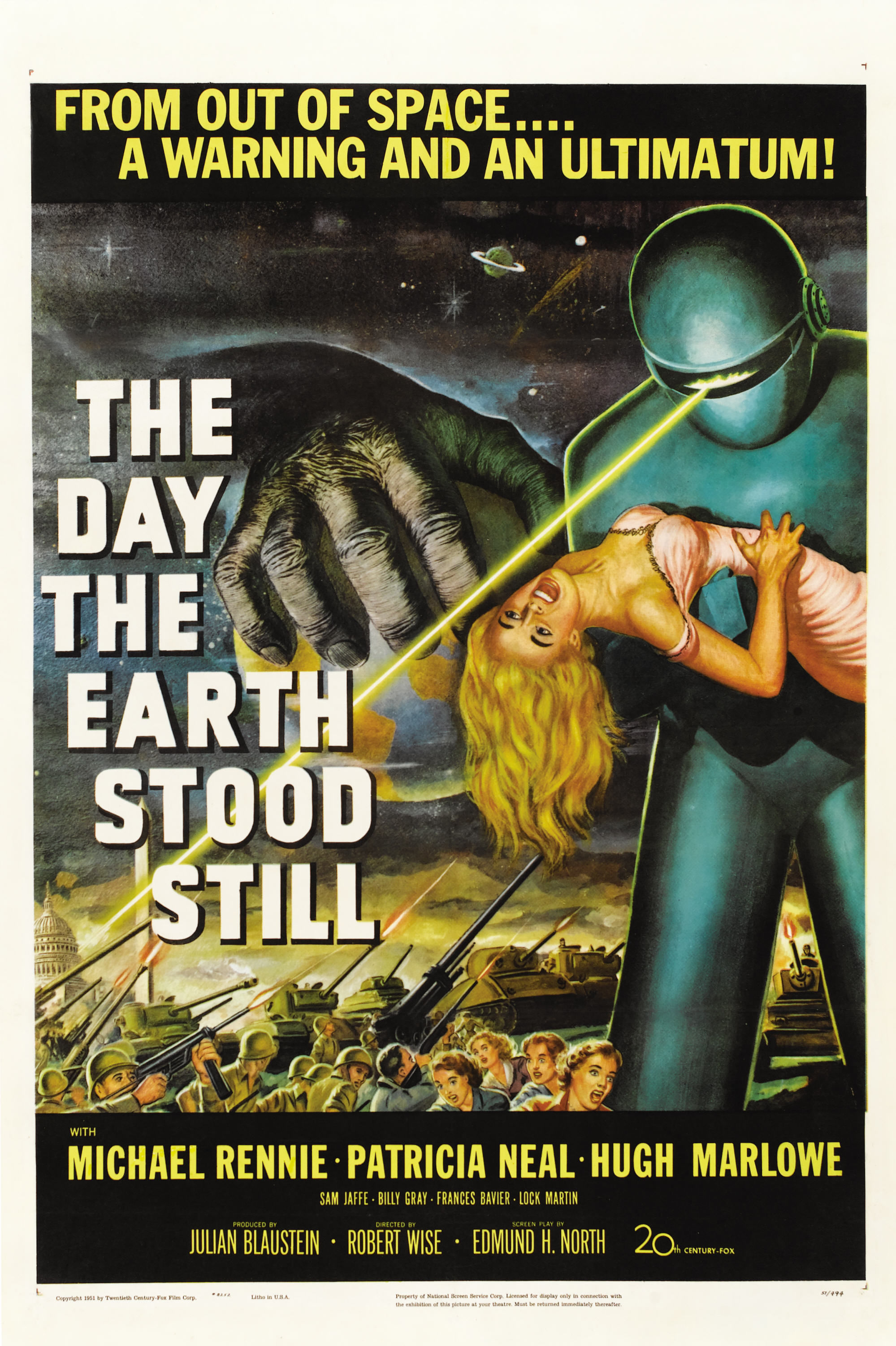 Name of Collectible 1951 The Day the Earth Stood Still Poster