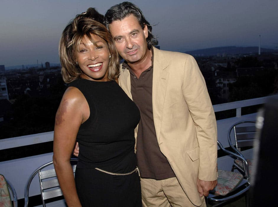 Tina Turner celebrates wedding to Erwin Bach with star-studded party ...
