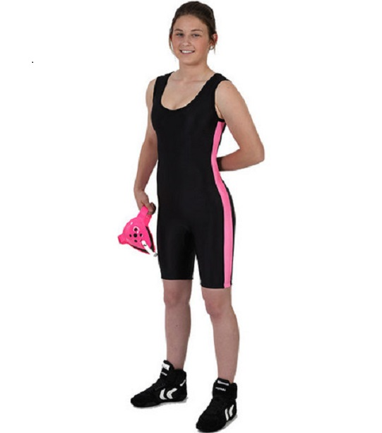 Matman Youth Girl's Side Panel Singlet