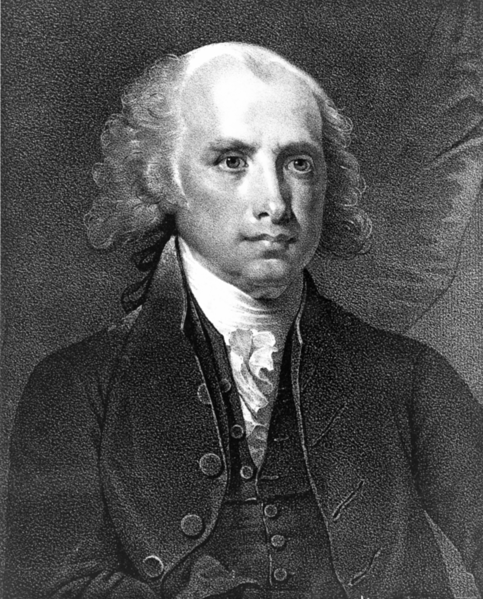 James Madison, 1751-1836, the fourth president of the United States ...