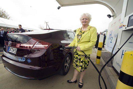 Honda Swindon plant now producing green hydrogen