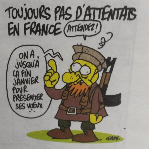Charlie Hebdo consternation et solidarité !   IDBOOX