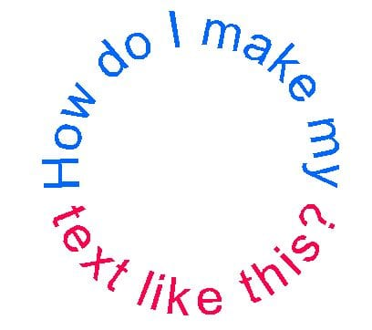 text-in-a-circle