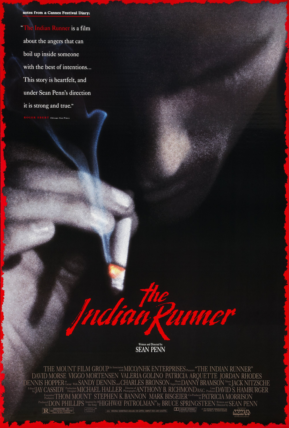The Indian Runner : Extra Large Movie Poster Image - IMP ...