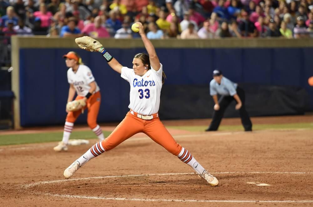 Gator softball dispatches Washington, sets up national ...