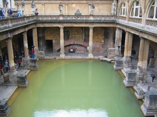 La ciudad de Bath considerada una de las más lindas del mundo