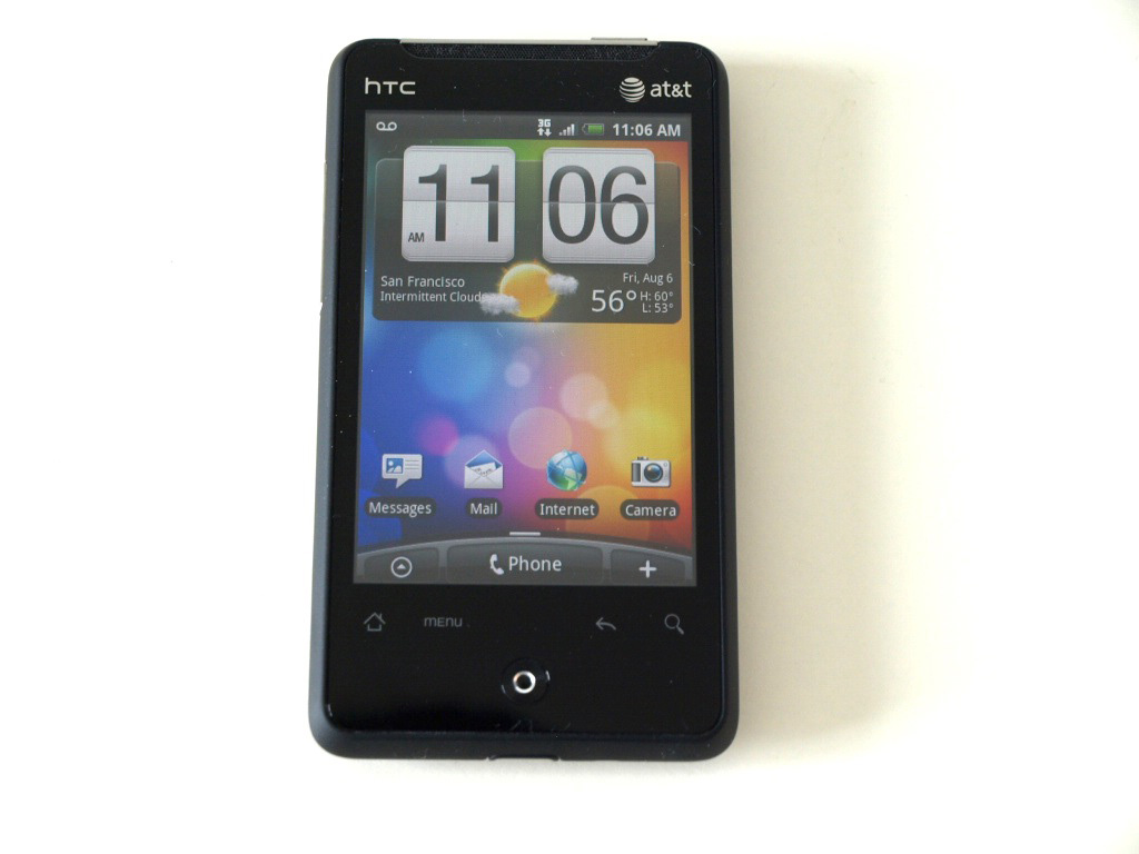 ... the HTC Aria Android phone for AT&T. The smallest Android phone yet
