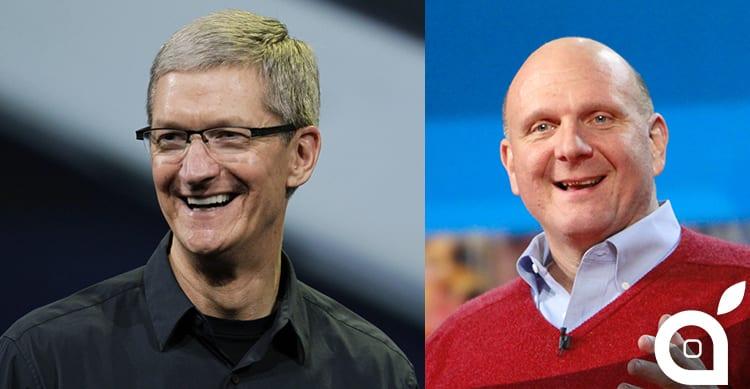 Tim Cook viene definito lo Steve Ballmer di Apple | iSpazio