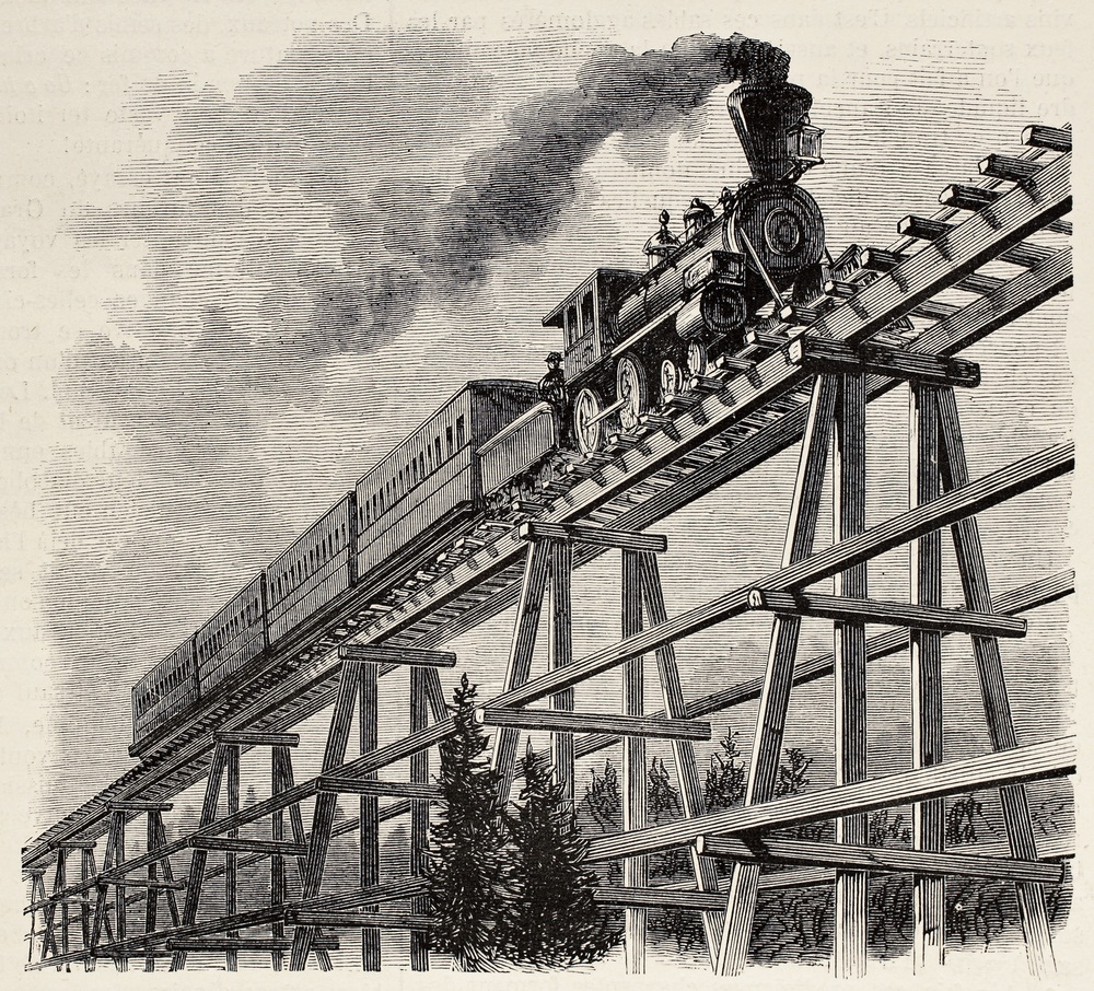 Railroads, and the Industrial Revolution