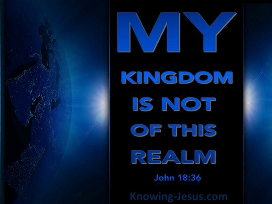 John 18:36 - Verse of the Day