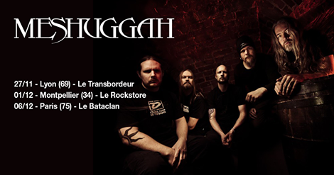 Meshuggah : trois dates en France - Actu - La Grosse Radio Metal ...