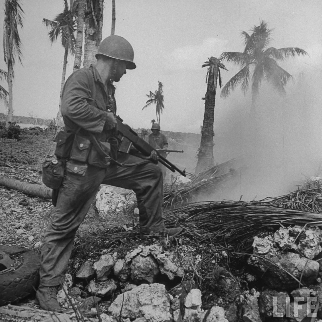 Diaporama Photo Bataille de Guam en 1944 | Laintimes