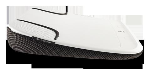 Logitech Speaker Lapdesk N550 USB Speaker for Laptop 14 ...