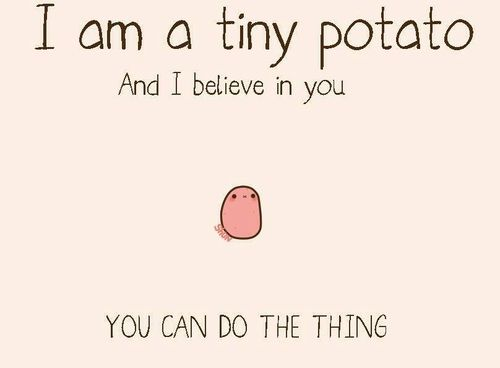 https://images.duckduckgo.com/iu/?u=http%3A%2F%2Fwww.lovethispic.com%2Fuploaded_images%2F156255-I-Am-A-Tiny-Potato-And-I-Believe-In-You-You-Can-Do-The-Thing.jpg&f=1