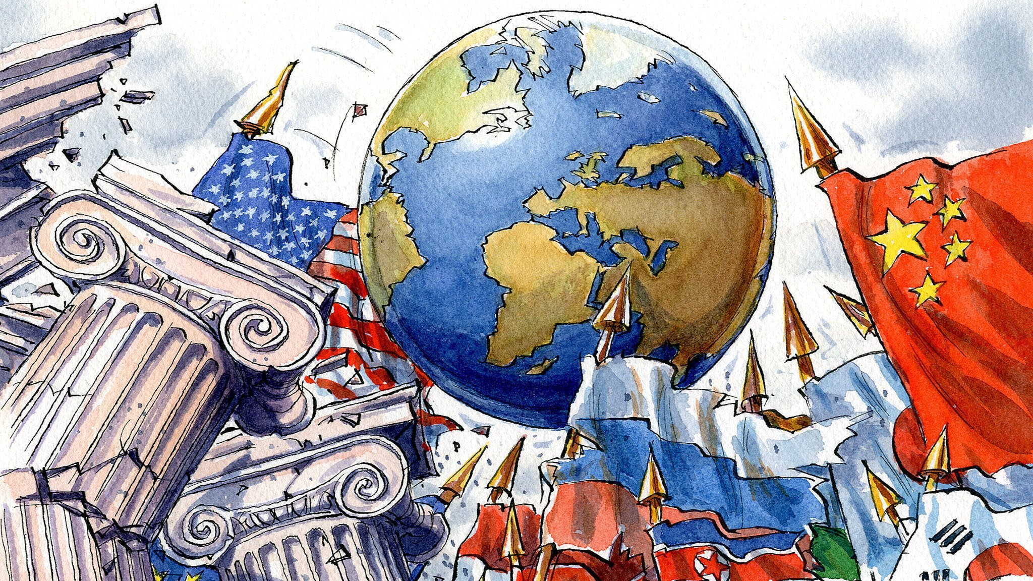 # LUC MICHEL'S GEOPOLITICAL DAILY/ THE EMERGING OF MULTIPOLAR WORLD SEEN FROM RUSSIA (I): HOW ...