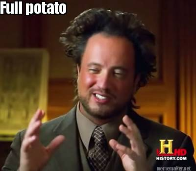 Full potato