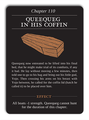 Chapter 110: Queequeg in his Coffin