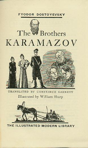 Brothers Karamazov (1st) Illustrations