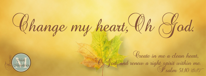 Autumn Bible Verse Facebook Cover