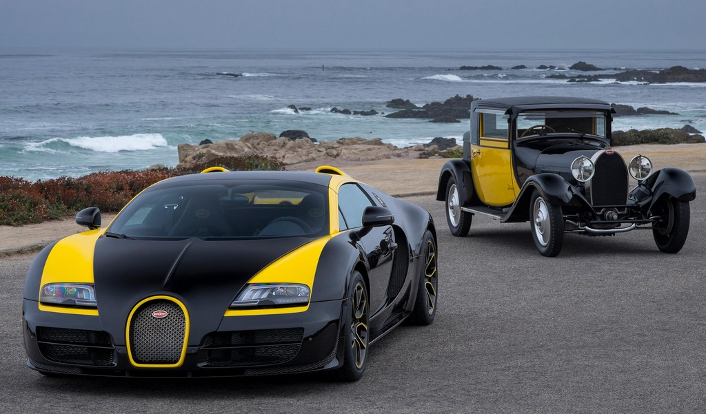 "Bugatti Grand Sport Vitesse ""1 of 1"" Revealed at Pebble Beach"
