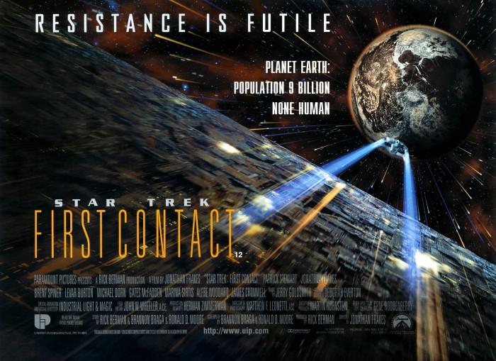 Star Trek First Contact - Movie Poster Wallpaper ...
