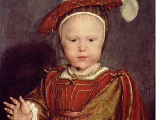 Edward VI as a-Child