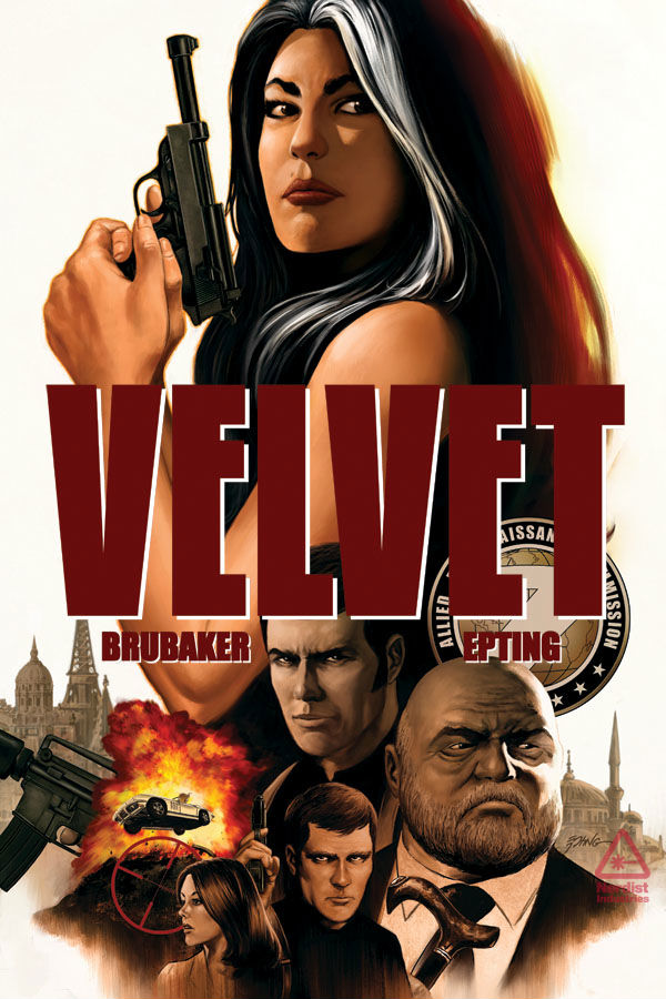 "... Ed Brubaker and Steve Epting Re-Team for Image Comics' ""Velvet"