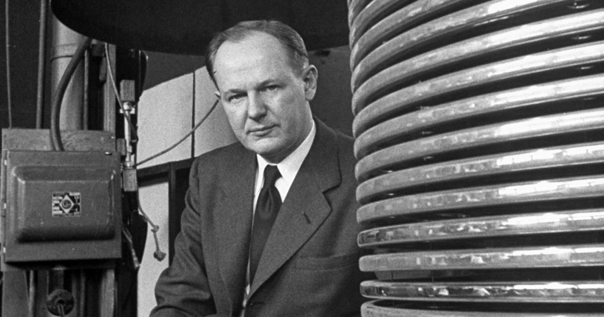 John G. Trump (1907-1985 ) Nuclear Physicist trusted by Deep State with stolen Tesla documents.