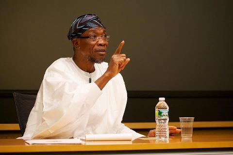 ... Kabir Aregbesola was arrested in Lagos on charges of money laundering
