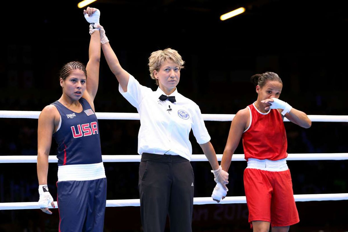 Marlen Esparza becomes first American woman to win Olympic ...