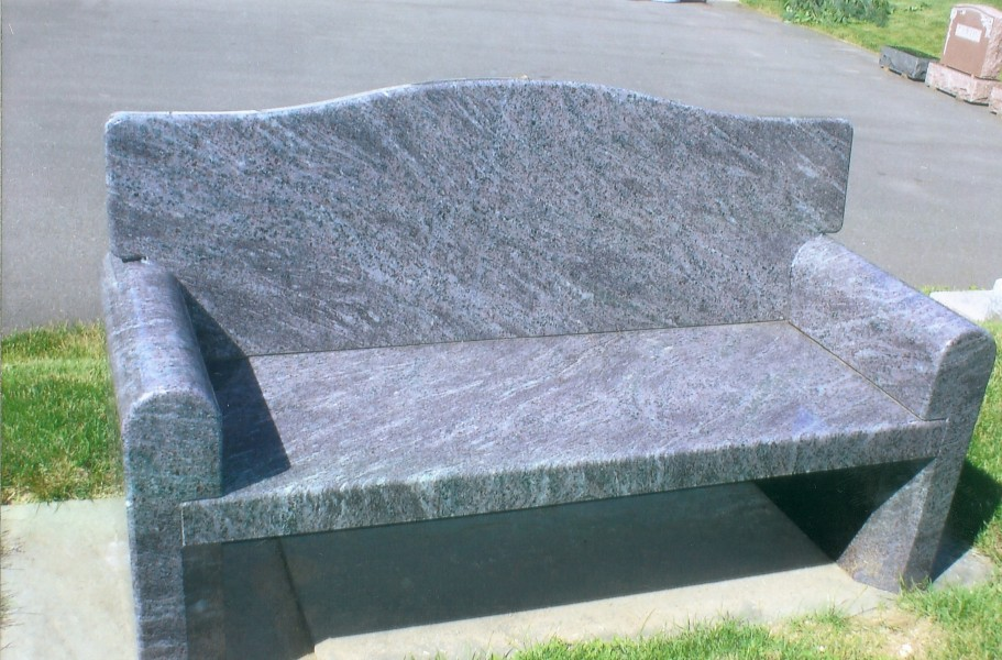 Memorial Benches | O'Rourke Brothers Memorials & Abate ...