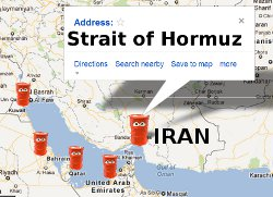 Iran, Oil and Strait of Hormuz