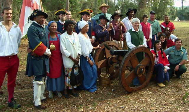 Fort Mose St. Augustine, State Parks St. Augustine, Black History St. Augustine, Fort Mose State ...