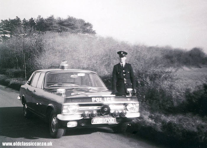 Ford Zephyr & Cortina police cars remembered