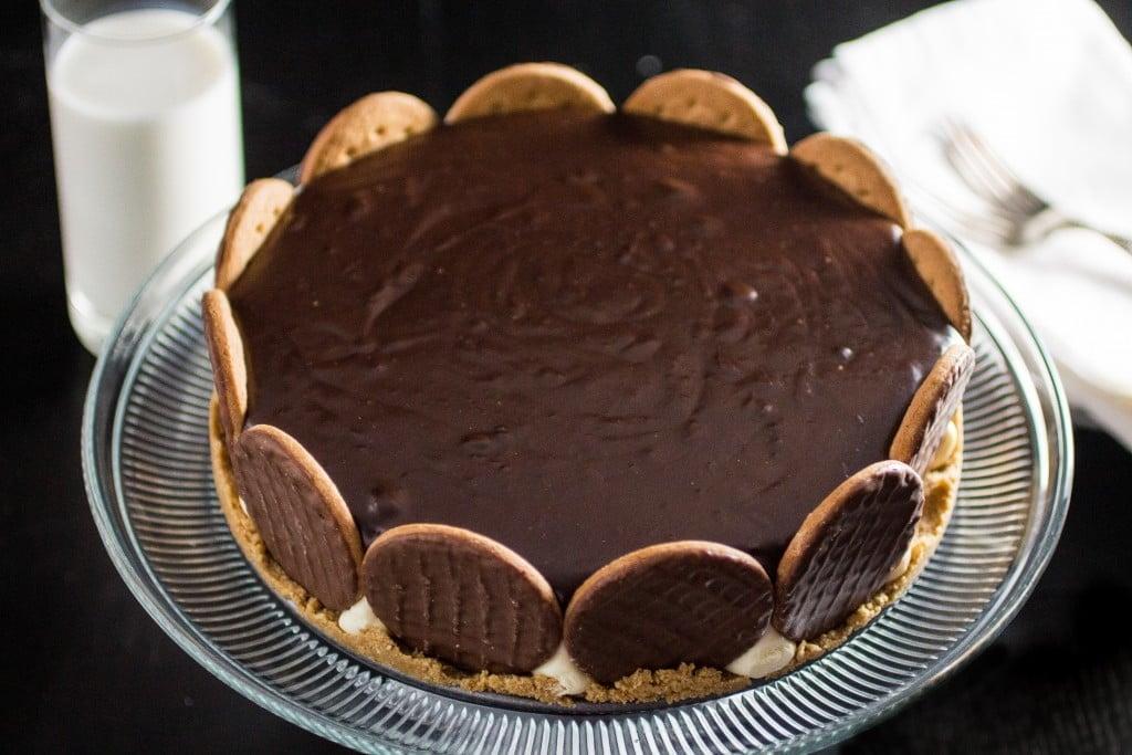 Chocolate Covered Cream Pie - Olivia's Cuisine