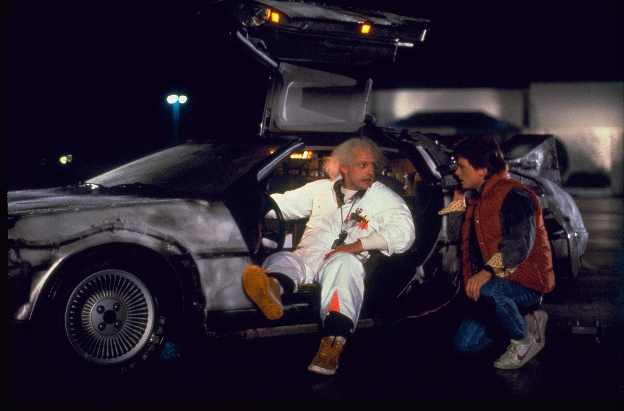 Time Travelling: DeLorean and 'Back to the Future' 30 ...