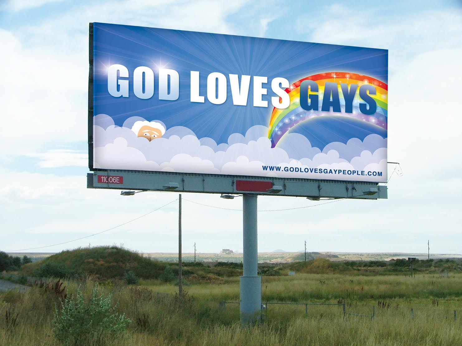 'God Loves Gays' billboard idea looking for a home ...